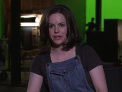 Cosmopolis: Emily Hampshire Setting Up Character