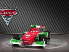 Cars 2: Showroom Turntable Francesco Bernoulli