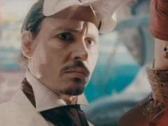 The Imaginarium Of Doctor Parnassus: Johnny Depp Dances With The Lady In The Shoes