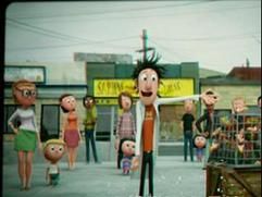 Cloudy With A Chance Of Meatballs: Flint's Inventions