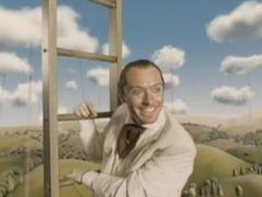 The Imaginarium Of Doctor Parnassus: Jude Law Escapes And Turns Ladder Into Stilts