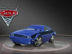 Cars 2: Showroom Turntable Rod Torque Redline