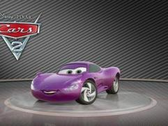 Cars 2: Showroom Turntable Holly Shiftwell