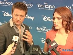 Exclusive: The Avengers - Jeremy Renner and Scarlett Johansson Interview