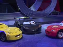 Exclusive: Cars 2 - Hamilton Gorvette Cameos