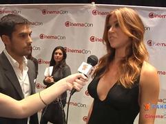 Exclusive: D.J. Cotrona and Adrianne Palicki Interview at CinemaCon 2012