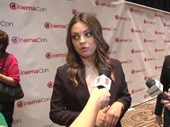 Exclusive: Mila Kunis Interview at CinemaCon 2012