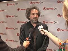 Exclusive: Tim Burton Interview at CinemaCon 2012