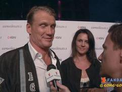 Exclusive: The Expendables 2 - Dolph Lundgren Comic-Con 2012