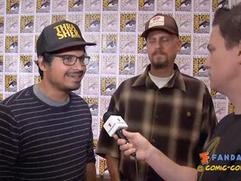 Exclusive: End of Watch - Michael Pena and David Ayer SDCC 2012