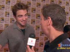 Exclusive: Breaking Dawn Pt. 2 - Robert Pattinson Comic-Con 2012