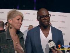 Exclusive: The Expendables 2 - Terry Crews and wife Comic-Con 2012