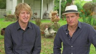 Exclusive: Free Birds - Meet The Flock: Owen Wilson & Woody Harrelson