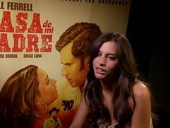 Exclusive: Casa De Mi Padre - Genesis Rodriguez Interview