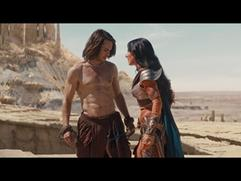 Exclusive: John Carter - John and Dejah Featurette