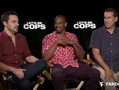 Exclusive: Let's Be Cops - The Fandango Interview