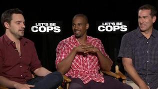 Exclusive: Let's Be Cops - The Fandango Interview