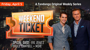Weekend Ticket with the cast of Evil Dead