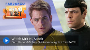 Weekend Ticket with Chris Pine and Zachary Quinto