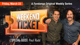 Weekend Ticket with Paul Rudd from Admission