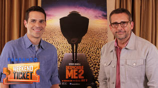 Weekend Ticket with Steve Carrell from Despicable Me 2