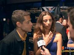 Exclusive: Breaking Dawn Pt. 2 - Rami Malek and Angela Sarafyan SDCC 2012