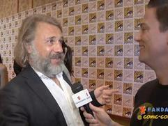 Exclusive: Django Unchained - Christoph Waltz Comic-Con 2012