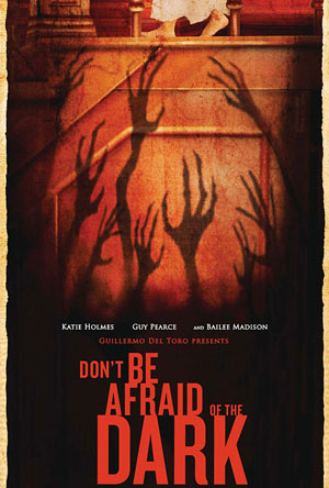 DontBeAfraid Dialogue: Guillermo Del Toro and Katie Holmes of Don't Be Afraid of the Dark Talk Scary Movies
