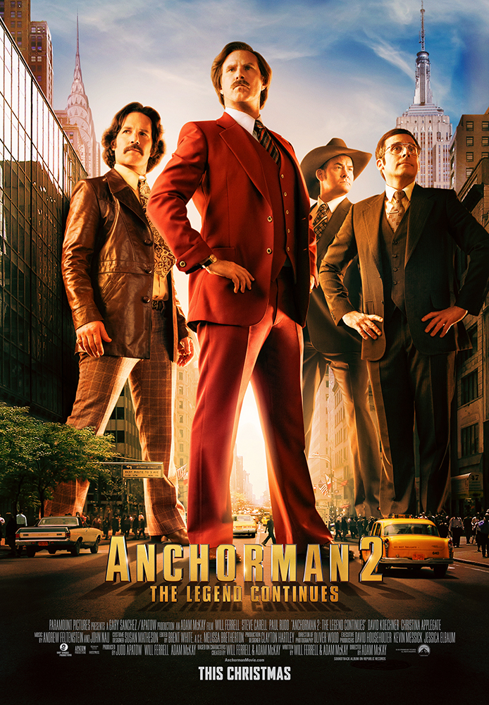 Anchorman 2: The Legend Continues Super-Sized R-rated Version