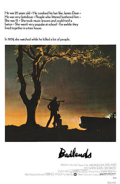 a comparison of the movies badlands and days of heaven Days of heaven movie reviews & metacritic score:  right after he made badlands which was also 1978's days of heaven.