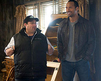 Andy Fickman and Dwayne Johnson