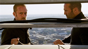 Ben Foster and Jason Statham in 'The Mechanic'