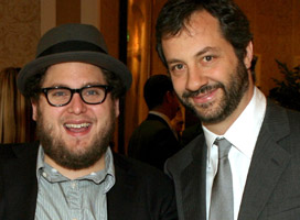 Jonah Hill and Judd Apatow