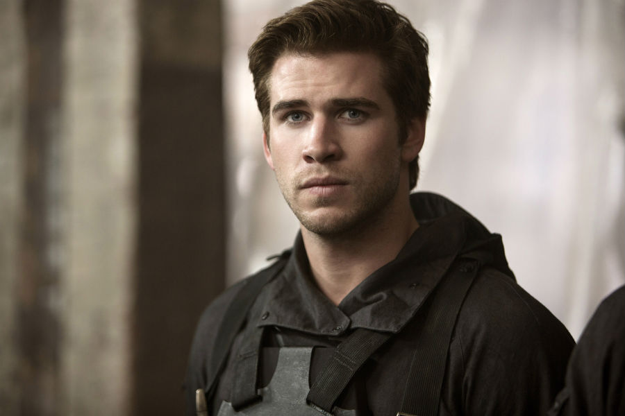 Liam Hemsworth in Mockingjay