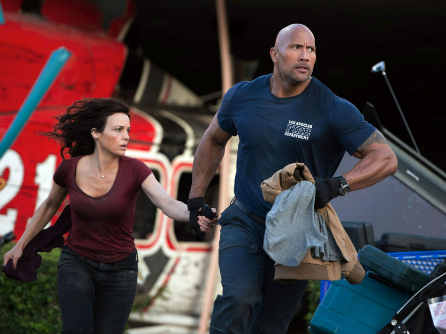 News Briefs First Look At Dwayne Johnson In San Andreas