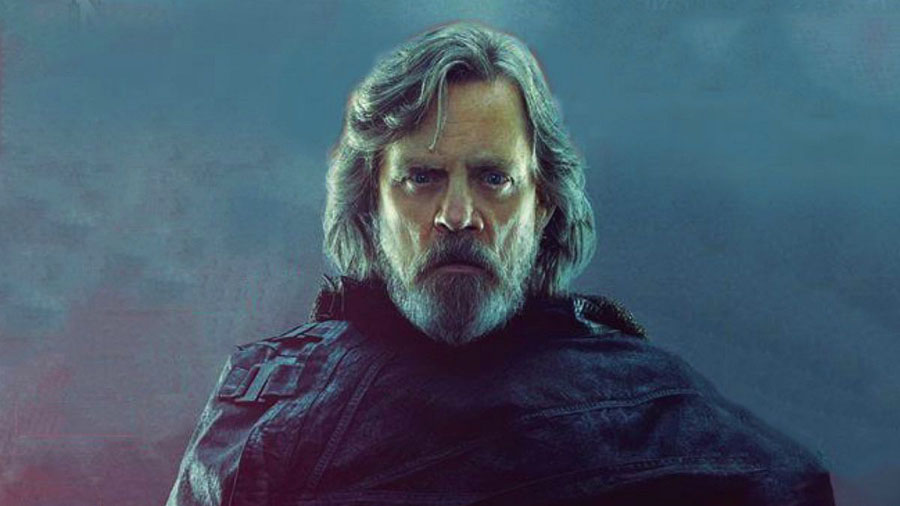 Star Wars: The Last Jedi Luke Skywalker Mark Hamill