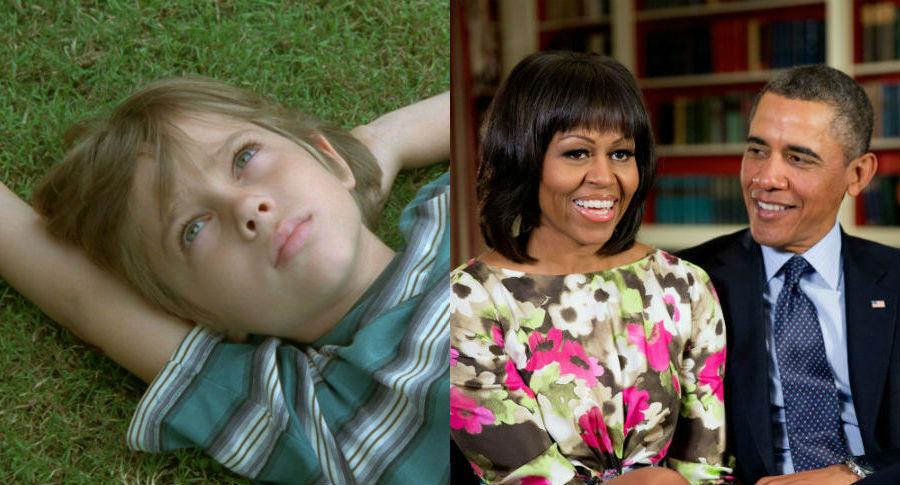 Boyhood / President and Mrs. Obama