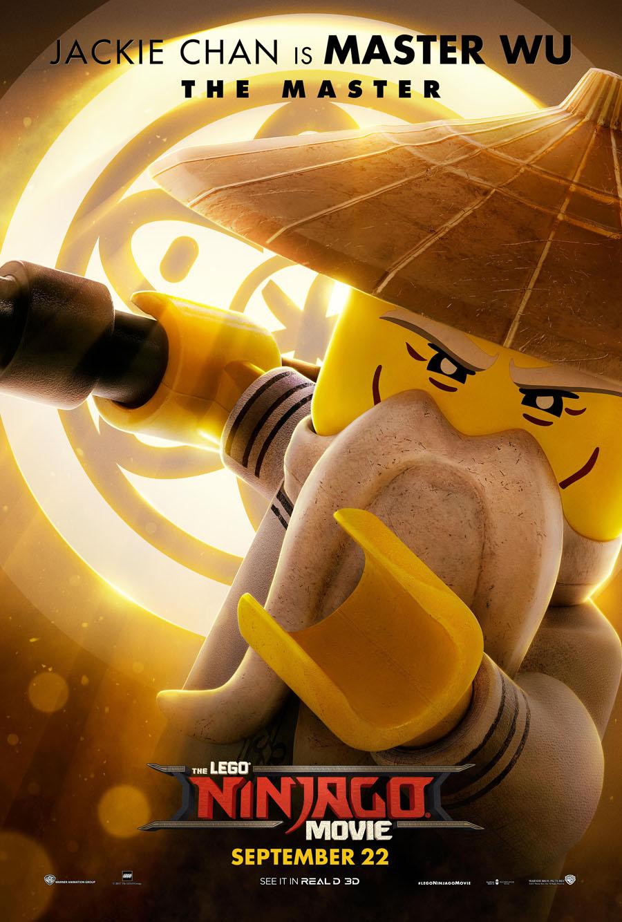 The Lego Ninjago Movie Master Wu