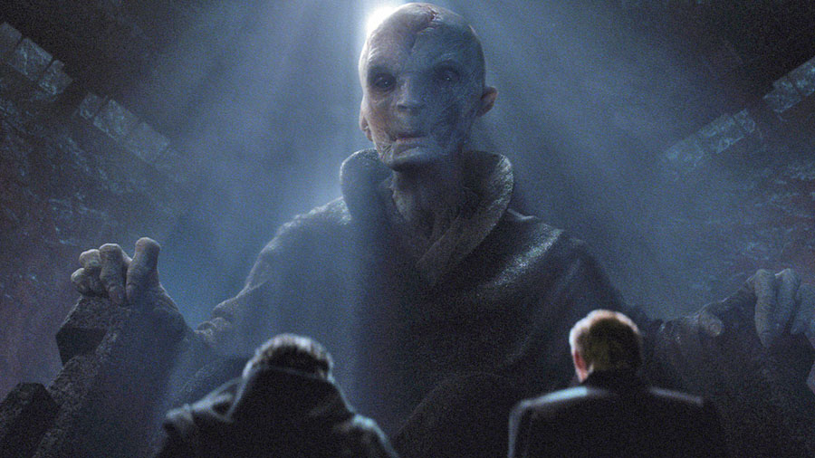 Star Wars: The Force Awakens Supreme Leader Snoke Andy Serkis