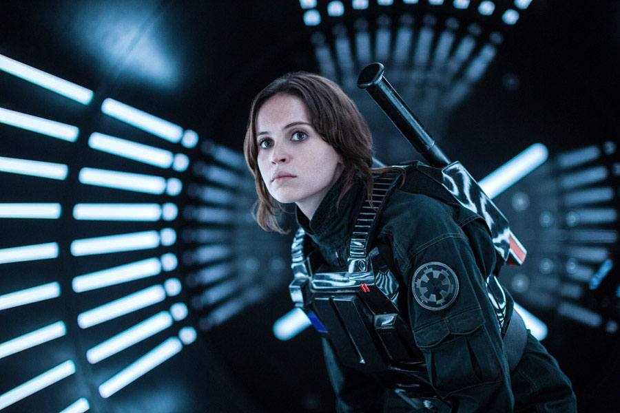 Rogue One Felicity Jones Jyn Erso