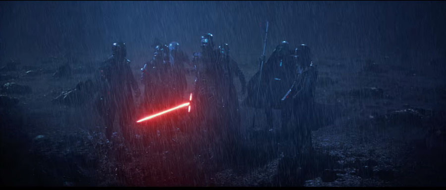 Star Wars: The Force Awakens The Knights of Ren Kylo Ren Adam Driver