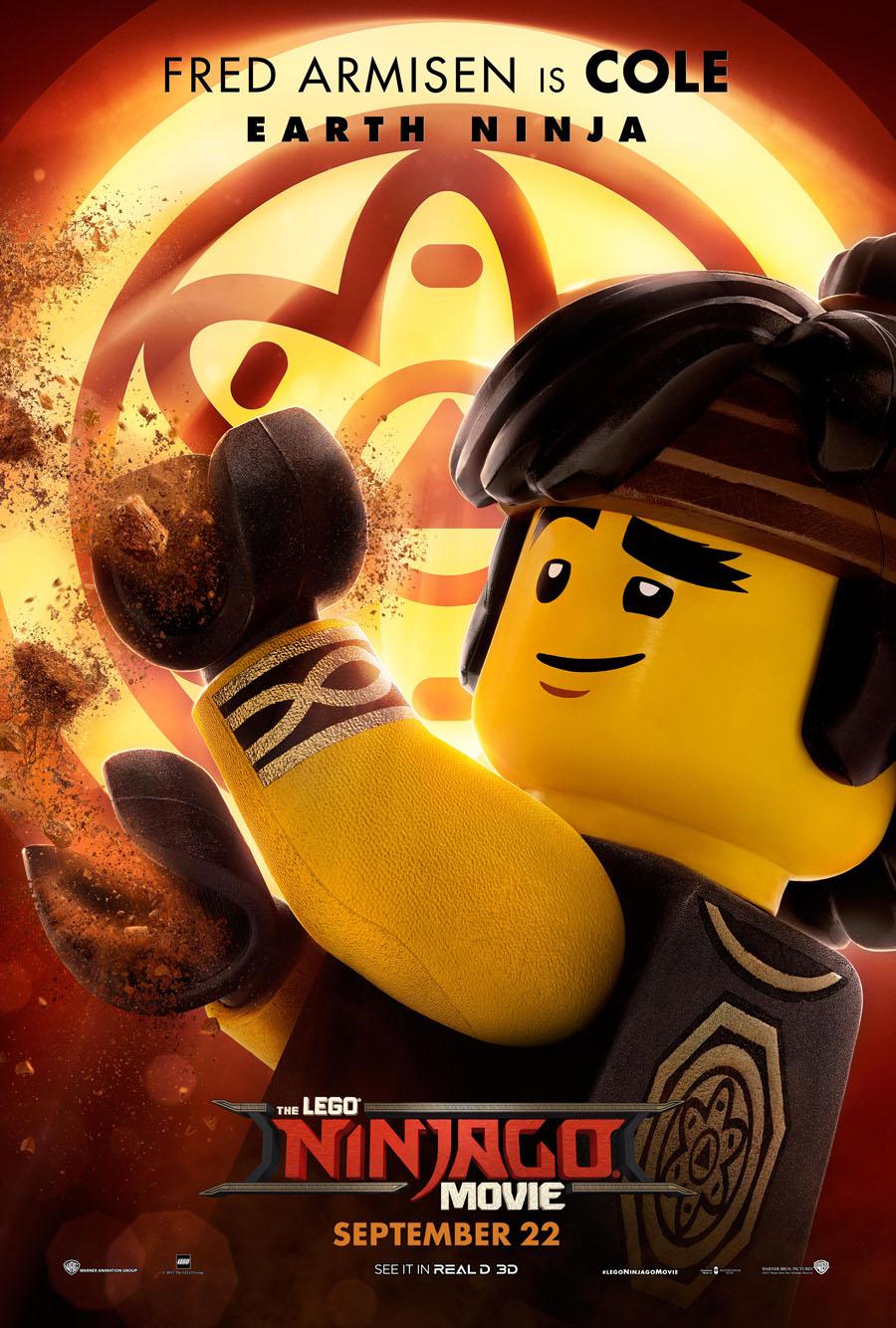 The Lego Ninjago Movie Cole