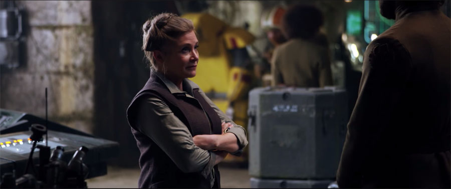 Star Wars: The Force Awakens General Leia Organa Carrie Fisher