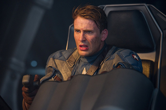 Captain America plane