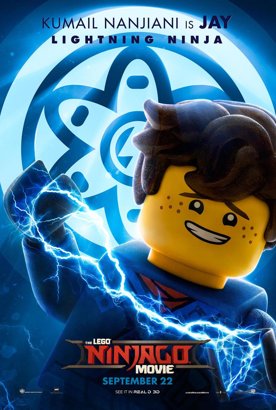 The Lego Ninjago Movie Jay