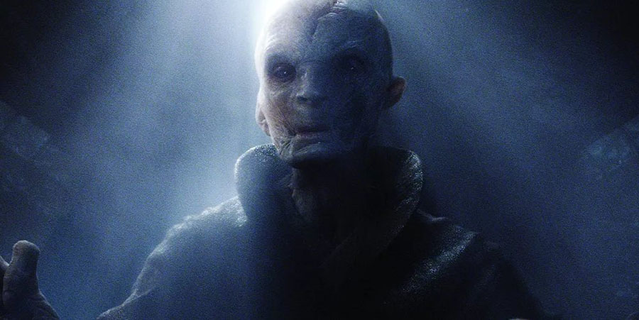 Star Wars: The Force Awakens Andy Serkis Supreme Leader Snoke