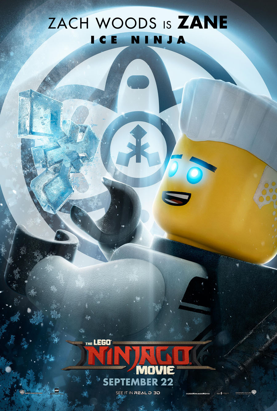 The Lego Ninjago Movie Zane