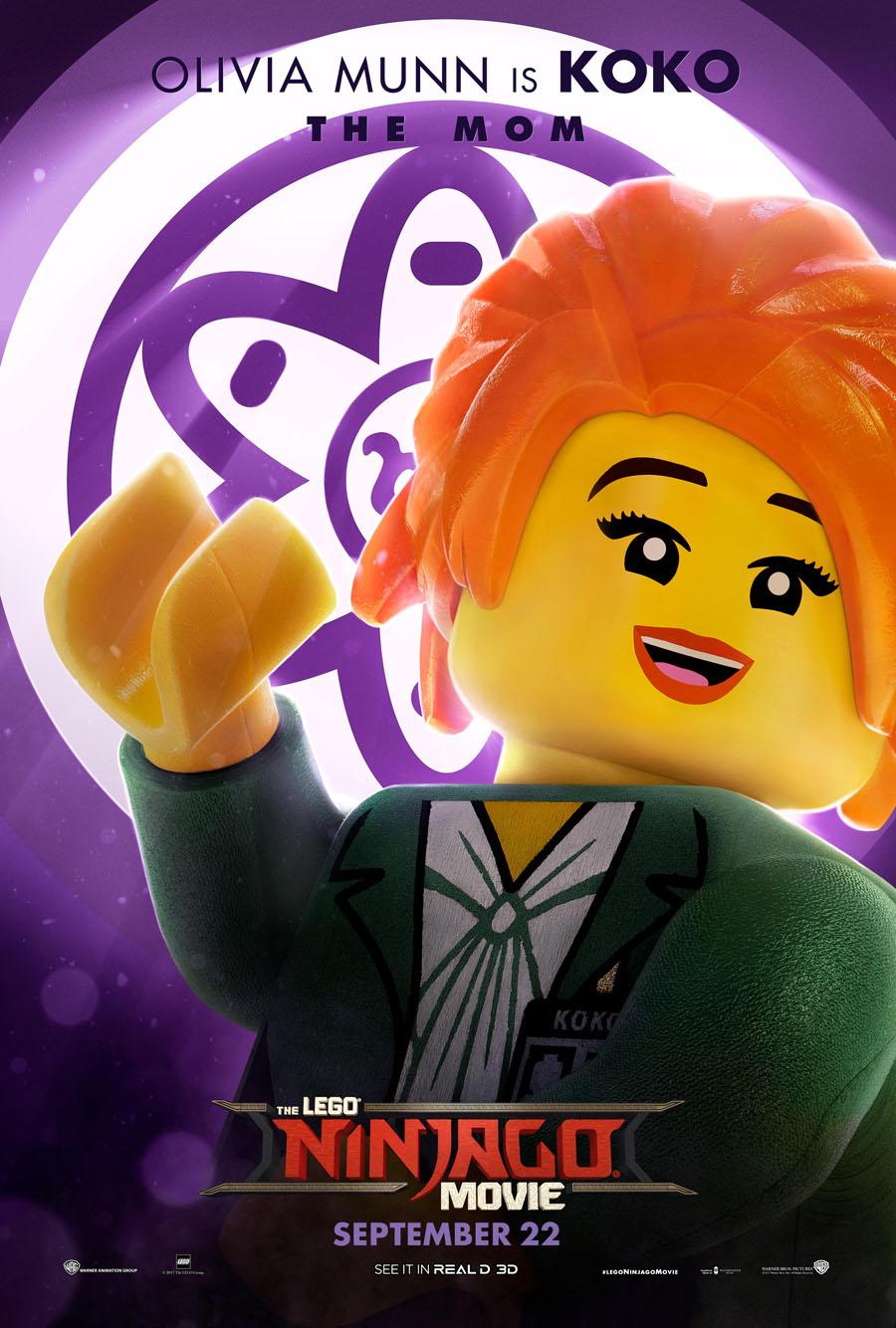 The Lego Ninjago Movie Koko