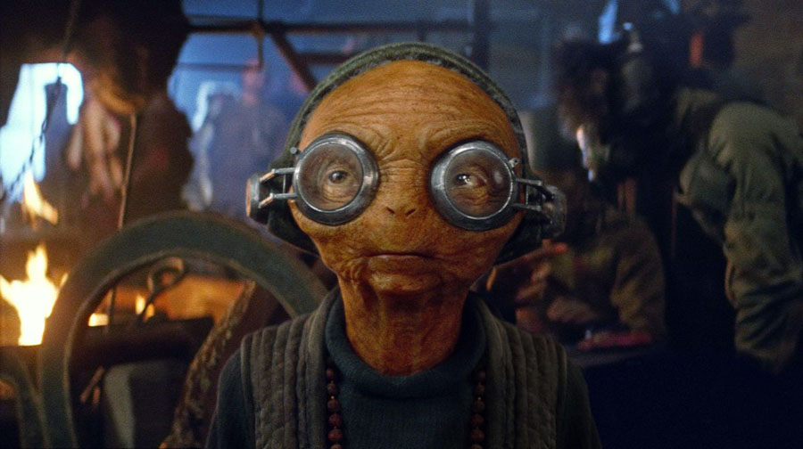 Star Wars: The Force Awakens Maz Kanata Lupita Nyong'o