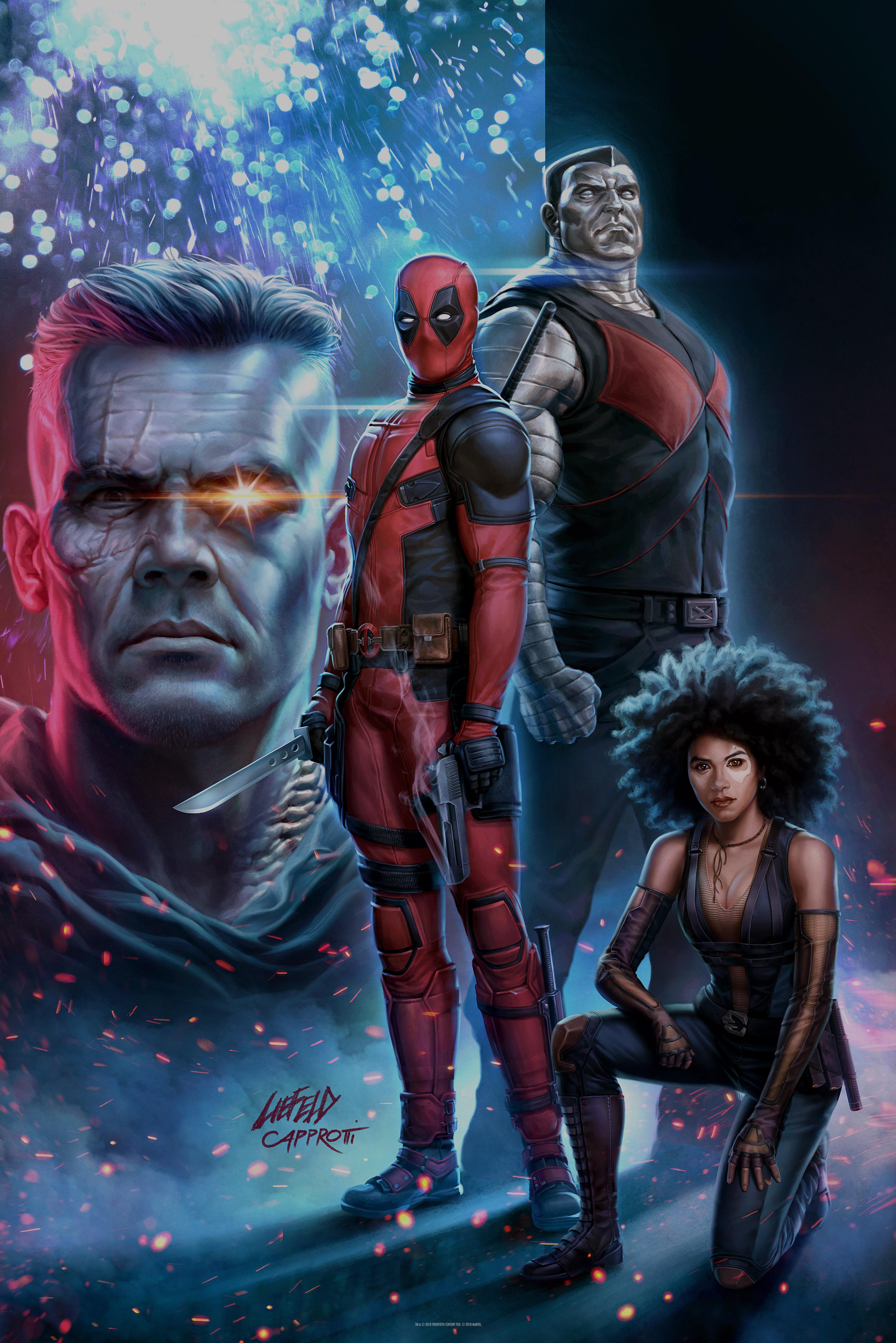 5fe7f568eebeb Deadpool 2 Fandago GWP poster
